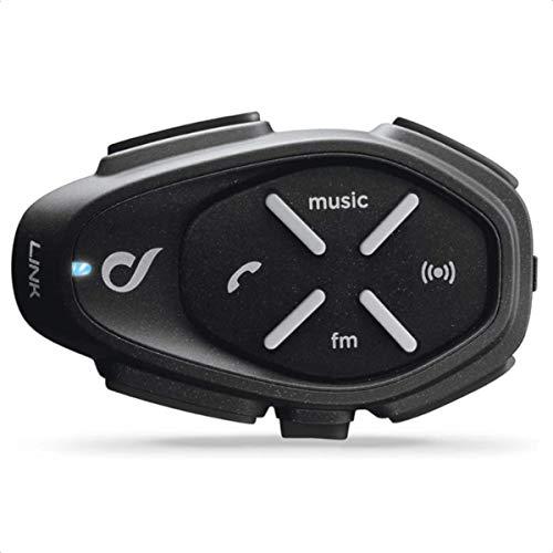 Cellularline Interphone Bluetooth 4.2 Motorrad Freisprecheinrichtung Gegensprechanlage Headset