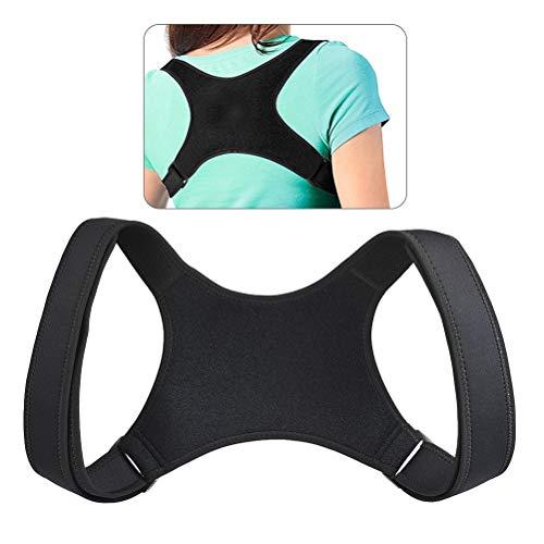Idealeben Verstellbarer Haltungskorrektur-Klammer, Haltungstrainer Rückenstabilisator Schulterstütze für Männer, Frauen und Kinder, Rückenstütze zur Schmerzlinderung