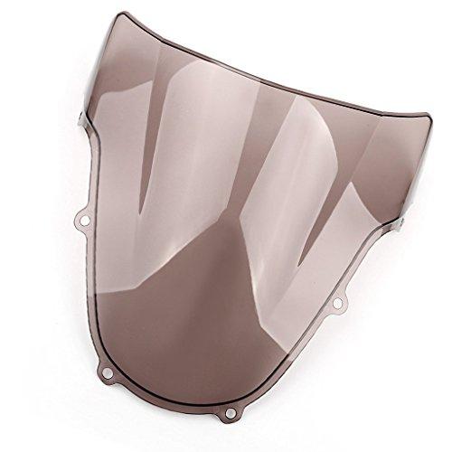 Moto Pare-Brise écran ABS Shield Pour GSXR600 750 K1 2001-2003 GSXR1000 2000-2002 (Fumée)