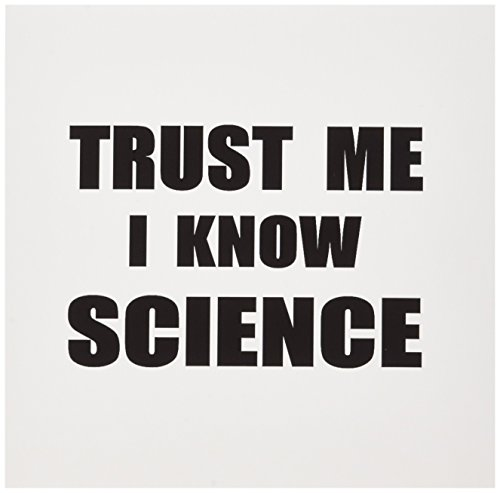 3dRose Trust Me I Know Science Fun Scientist Humor Funny Work Job Gift Greeting Cards, Set of 6 (gc_195651_1)