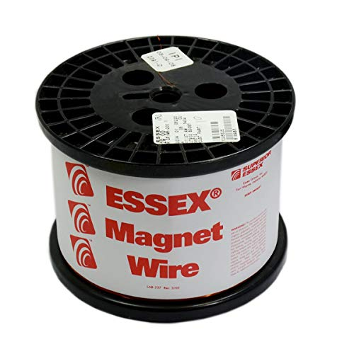 Essex 22 AWG Magnet Wire | Enameled Copper Winding Wire for Electrics Like Inductors, Speaker Coils, Generators, Motors, School Science Projects & DIY Projects (10 LB Copper, 22 AWG)