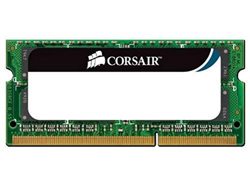 Corsair Value Select SODIMM 8GB (1x8GB) DDR3 1333MHz C9 Speicher für Laptop/Notebooks - Schwarz
