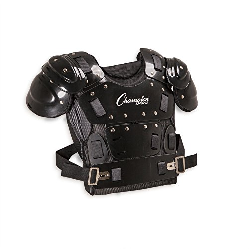 Champion Sports Umpire Chest Protector: 17 Inch Lightweight Soft Shell Umpire Armor for Softball & Baseball Equipment
