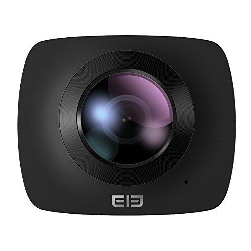 [Elephone Official Store]Original Elephone Elecam 360 Fotocamera grandangolare – Nero