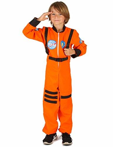 Vegaoo - Astronauten-Kostüm für Jungen - 122/134 (7-9 Jahre)