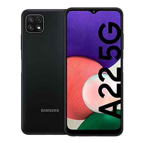 Samsung Galaxy A22 5G Smartphone ohne Vertrag 6.6 Zoll 64GB Android Handy Mobile Gray