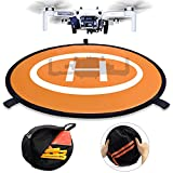 Drone Landing Pads, Waterproof 30'' Universal Landing Pad Fast-fold Double Sided Quadcopter Landing Pads for RC Drones Helicopter DJI Spark Mavic Pro Phantom 2/3/4 Pro Inspire 2/1 3DR Solo