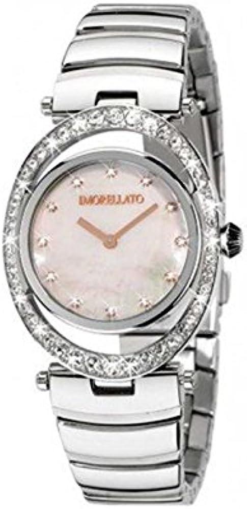 Morellato heritage,orologio da donna,in acciaio inossidabile e cristalli SQG013