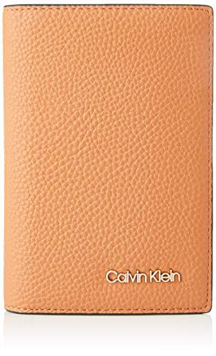 Calvin Klein Sided Passport Holder, Women's Bag Organiser, Brown (Cuoio), 1x1x1 cm (W x H L)