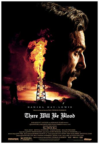 There Will be Blood Movie Poster 24 x 36 Inches Full Sized Print Unframed Ready for Display