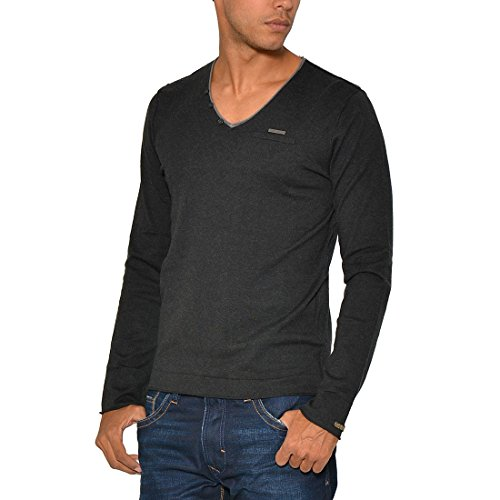 Kaporal Pull Tayles fs Couleur Cendre Taille S