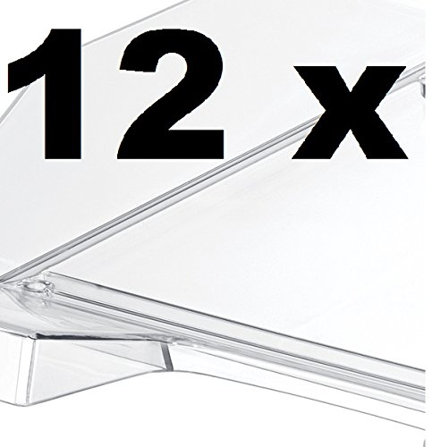 HAN Briefablage KLASSIK 1026 (glasklar | 12 Ablagen)
