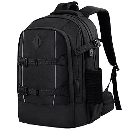 Schulrucksack Jungen Mädchen Teenager, Rucksack Herren Damen Schule Laptop Rucksack Daypacks für 15.6 Zoll Laptop Business Rucksack mit USB Ladeanschluss