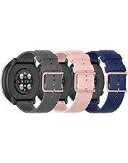 Simpleas Gomma Cinturini per Orologi compatibile con Garmin vívomove 3 (44MM) / Luxe (42MM) / Vivoactive 3, Impermeabile Orologi Bracciale Cinturino
