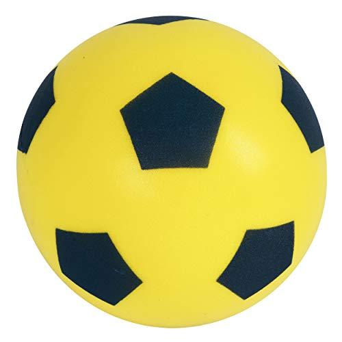 Schaumstofffußball Größe 5, gelb, Gelb