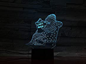 3D   Animal Seal Lamp with 7 Color Changing Decorative Lamp Baby Kids Kit Lazy Men Night Light Seal Led Night Light