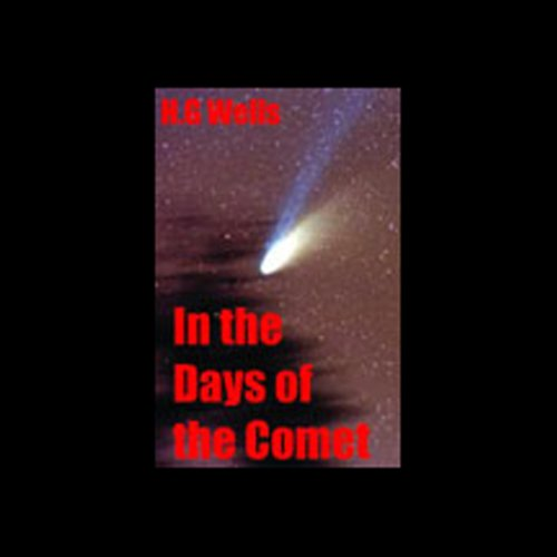 In the Days of the Comet audiobook cover art