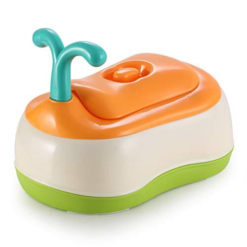 Siège de toilette pour bébé Avec poignées et anti-éclaboussures Portable et durable Bébé toilette enfant Sûr Anti-dérapant Siège pot pour bébé Pot wc pour bébés-A