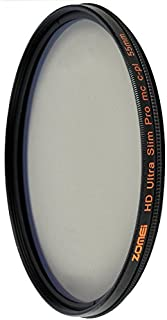 ZoMei 55mm HD 18 Layer Super Slim Multi-Coated Circular Polarizer CIR-PL CPL Lens Filter