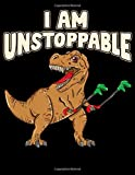 I Am Unstoppable: I Am Unstoppable TRex Funny Short Dinosaur Arms Joke 2020-2024 Five Year Planner & Gratitude Journal - 5 Years Monthly Calendar & Thankfulness Reflection With Stoic Stoicism Quotes