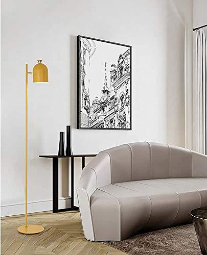 Wohnzimmer Stehlampe Schlafzimmerlampe Studie kreativ Retro-Stehlampe,B