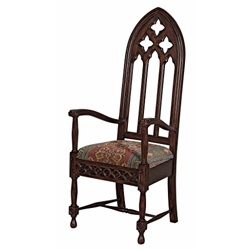 Design Toscano Viollet-le-Duc Gothic Cathedral Armchair