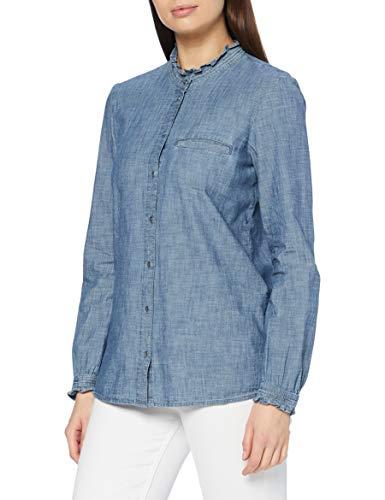 ESPRIT 090EE1F322 Camicia da Donna, 420/grigio Blu, 48