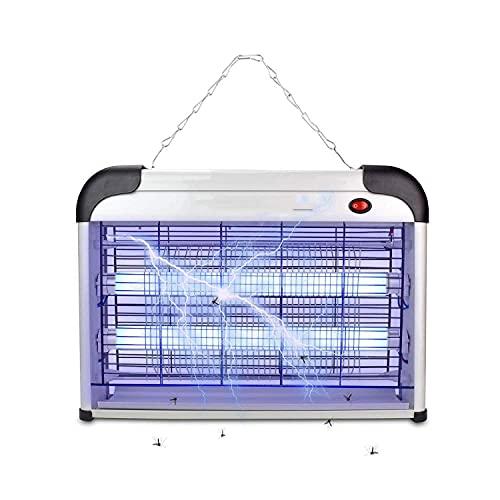 Lampara Mata Insectos Electrico Mata Moscas Mejor Solución contra Mosquitos, Polillas, Zancudos, Moscas, Y Mas Insectos.