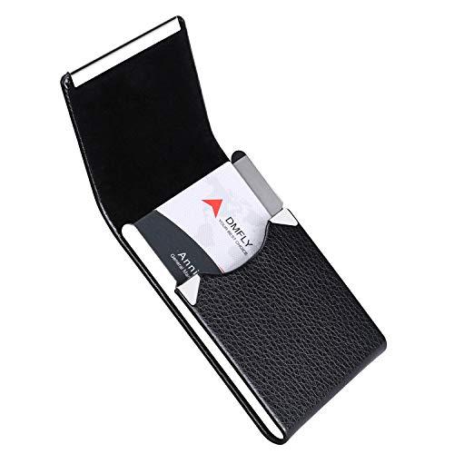 DMFLY 名刺入れ メンズ 名刺ケース マルチカラー ビジネス 化粧箱 仕切りカード 専用クロス 名刺が折れない
