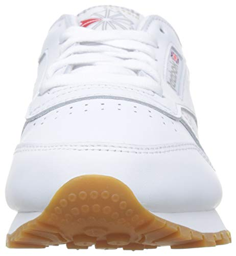 Reebok Classic Leather Zapatillas, Mujer, Blanco (Int-White / Gum), 40 EU