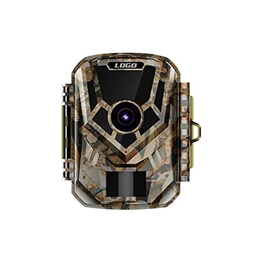 Cámara HD, cámara de caza, cámara al aire libre con energía solar, cámara a prueba de agua, cámara de visión nocturna a prueba de agua, verdadero IP66 impermeable, pantalla LCD de 2.0 para monitoreo d