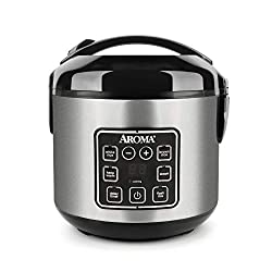 Aroma Rice Cooker - easy to use - it makes rice perfectly every time.