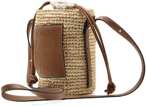 Handwoven Max 59% OFF Straw Purse All stores are sold Bag Summer Beach Satchel Handm Handbag