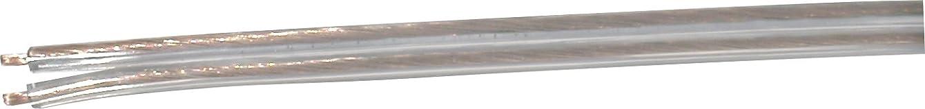 Prime PS107840 250-Feet 18/2 SPT-1 Vinyl Parallel Lamp Cord, Clear