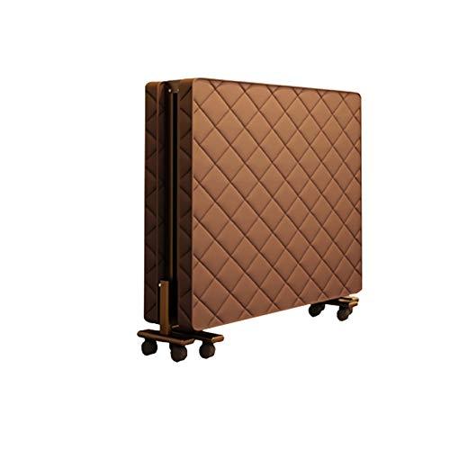 SUWEN Cama Plegable de Invitado,Viene con un colchón de látex Ultra cómodo de 2 Pulgadas, Que no está hundido, Solo 10 Pulgadas después de doblarlo, Que es fácil de Mover y Lavar.