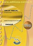 Droit fiscal Énoncé - UE 4 du DCG