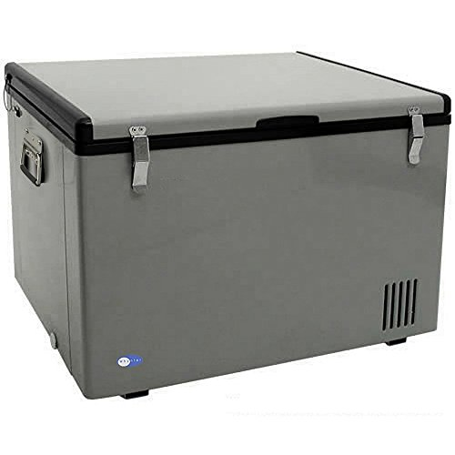 Whynter FM-85G 85 Quart Portable Fridge, AC 110V/ DC 12V True Freezer for Car, Home, Camping, RV-8°F to 50°F, One Size, Gray