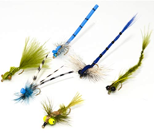 12 Effective Dragonfly and Damsel Fly Fishing Flies | Dry Flies, Wet...