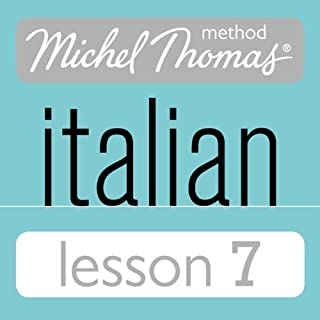 Michel Thomas Beginner Italian Lesson 7 cover art
