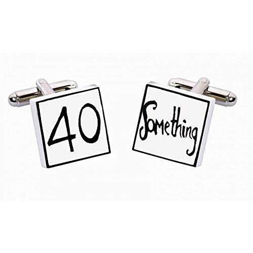 Sonia Spencer - Boutons De Manchette, 40 Ans Et Plus Anniversaire