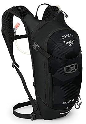 Osprey Salida 8 Women's Bike Hydration Backpack, Black Cloud