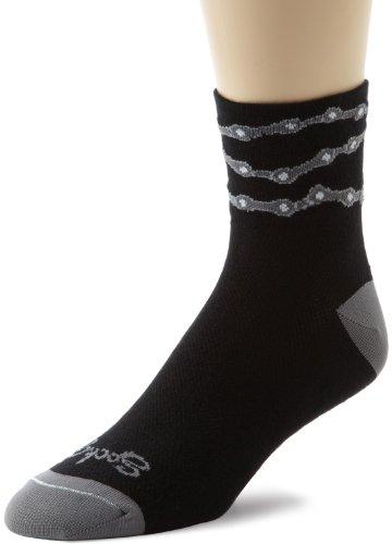 SockGuy Classic Socken Einheitsgröße Chain Black