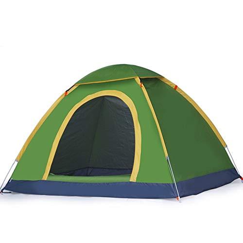 CHAOZHAOHENG Sofortiges Familienzelt zum Wandern und Reisen, schnell öffnendes Automatikzelt im Freien, doppelter Familienanzug, Sonnenschutz, Camping, Camping