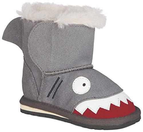 EMU Australia Babies Shark Walker Deluxe Wool Boots Size 18M+ EMU Boots