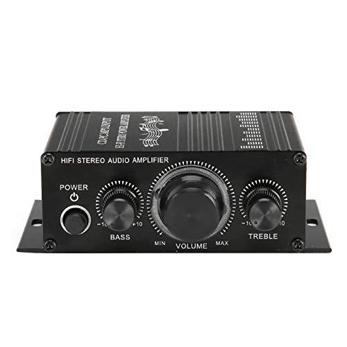 Cuifati Amplificador de Potencia de Alta fidelidad, Amplificador de Potencia para vehículos, fabricación Profesional, Mano de Obra Fina