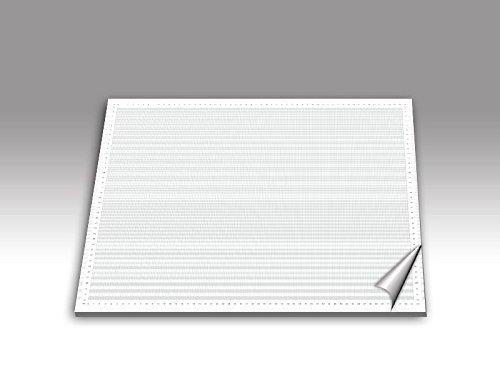 Millimeterpapier als DIN A2 Schreibunterlage/grau
