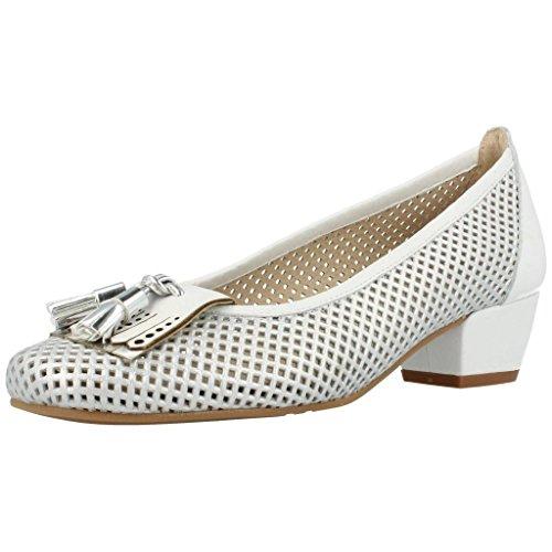 Argenta Zapatos Tacon 25267 26869 Mujer Plateado 36.5