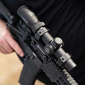Leupold VX-R Patrol Riflescope, Illum. FireDot TMR (113771)