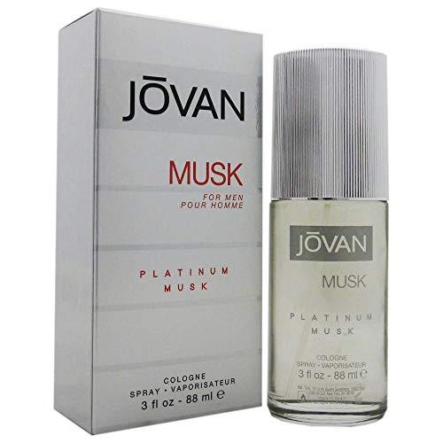 Jovan Platinum Musk by Jovan Cologne Spray 3 oz / 90 ml (Men)