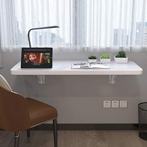 Deevin Wandtischklappbarküche, Klappbarer Esstisch, Computertisch, Wand-Klapptisch, Schreibtisch, Raumwunder